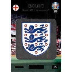 Team Logo England 118 Adrenalyn XL Euro 2020