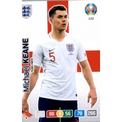 Michael Keane England 122 Adrenalyn XL Euro 2020