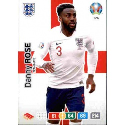 Danny Rose England 126 Adrenalyn XL Euro 2020