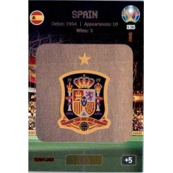 Team Logo Spain 136 Adrenalyn XL Euro 2020