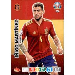 Iñigo Martínez Spain 140 Adrenalyn XL Euro 2020