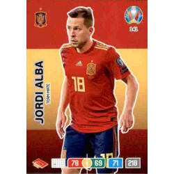 Jordi Alba Spain 141 Adrenalyn XL Euro 2020