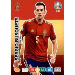 Sergio Busquets Spain 143 Adrenalyn XL Euro 2020