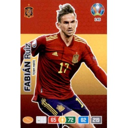Fabián Ruiz Spain 145 Adrenalyn XL Euro 2020