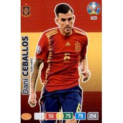 Dani Ceballos Spain 146 Adrenalyn XL Euro 2020