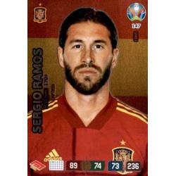 Sergio Ramos Captain Spain 147 Adrenalyn XL Euro 2020