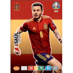 Saúl Spain 148 Adrenalyn XL Euro 2020