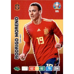 Rodrigo Moreno Spain 151 Adrenalyn XL Euro 2020