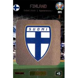 Team Logo Finland 154 Adrenalyn XL Euro 2020
