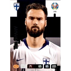Tim Sparv Captain Finland 165 Adrenalyn XL Euro 2020