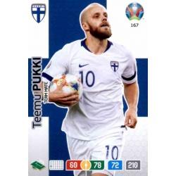 Teemu Pukki Finland 167 Adrenalyn XL Euro 2020