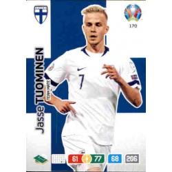 Jasse Tuominen Finland 170 Adrenalyn XL Euro 2020