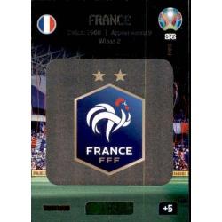 Team Logo France 172 Adrenalyn XL Euro 2020