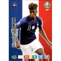 Kingsley Coman France 187 Adrenalyn XL Euro 2020