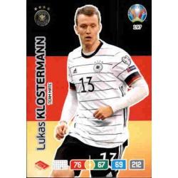 Lukas Klostermann Germany 197 Adrenalyn XL Euro 2020