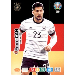 Emre Can Germany 203 Adrenalyn XL Euro 2020
