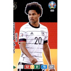 Serge Gnabry Germany 205 Adrenalyn XL Euro 2020