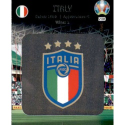 Team Logo Italy 208 Adrenalyn XL Euro 2020