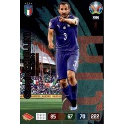 Giorgio Chiellini Fans' Favourite Italy 211 Adrenalyn XL Euro 2020