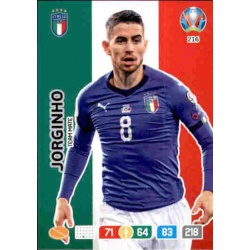 Jorginho Italy 216 Adrenalyn XL Euro 2020