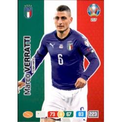 Marco Verratti Italy 217 Adrenalyn XL Euro 2020