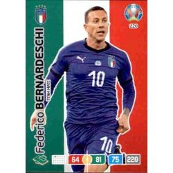 Federico Bernardeschi Italy 220 Adrenalyn XL Euro 2020