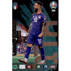 Lorenzo Insigne Fans' Favourite Italy 222 Adrenalyn XL Euro 2020