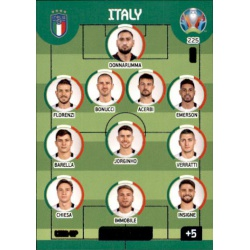 Line-Up Italy 225 Adrenalyn XL Euro 2020