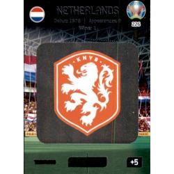 Team Logo Netherlands 226 Adrenalyn XL Euro 2020