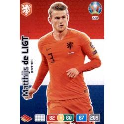 Matthijs de Ligt Netherlands 228 Adrenalyn XL Euro 2020