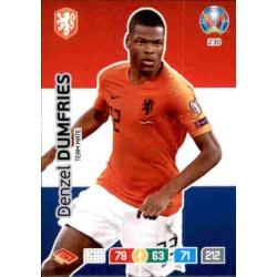 Denzel Dumfries Netherlands 230 Adrenalyn XL Euro 2020