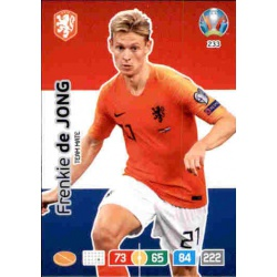 Frenkie de Jong Netherlands 233 Adrenalyn XL Euro 2020