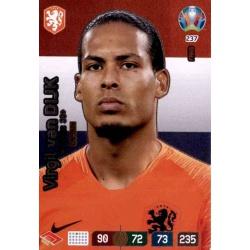 Virgil van Dijk Captain Netherlands 237 Adrenalyn XL Euro 2020