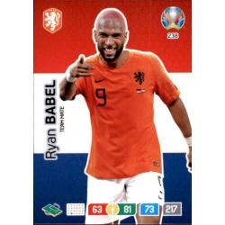 Ryan Babel Netherlands 238 Adrenalyn XL Euro 2020