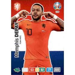 Memphis Depay Netherlands 239 Adrenalyn XL Euro 2020