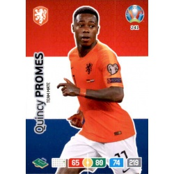 Quincy Promes Netherlands 241 Adrenalyn XL Euro 2020