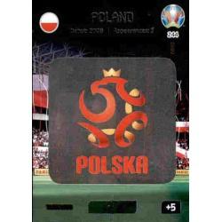 Team Logo Poland 244 Adrenalyn XL Euro 2020