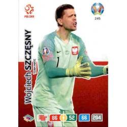 Wojciech Szczęsny Poland 245 Adrenalyn XL Euro 2020