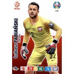 Łukasz Fabiański Poland 246 Adrenalyn XL Euro 2020