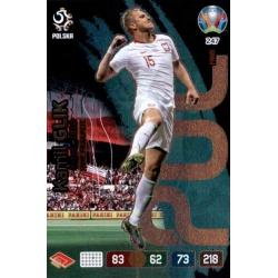 Kamil Glik Fans' Favourite Poland 247 Adrenalyn XL Euro 2020