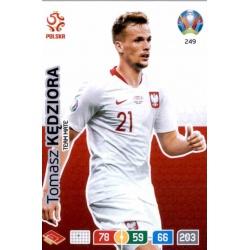 Tomasz Kędziora Poland 249 Adrenalyn XL Euro 2020