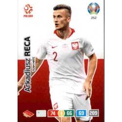 Arkadiusz Reca Poland 252 Adrenalyn XL Euro 2020