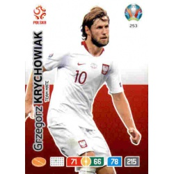 Grzegorz Krychowiak Poland 253 Adrenalyn XL Euro 2020