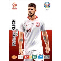 Mateusz Klich Poland 256 Adrenalyn XL Euro 2020