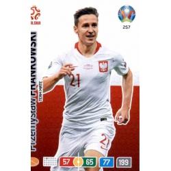 Przemysław Frankowski Poland 257 Adrenalyn XL Euro 2020
