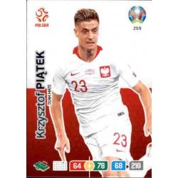 Krzysztof Piątek Poland 259 Adrenalyn XL Euro 2020