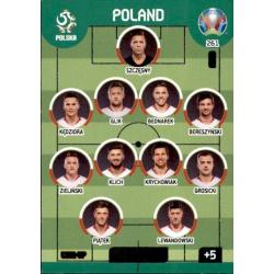 Line-Up Poland 261 Adrenalyn XL Euro 2020