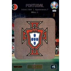Team Logo Portugal 262 Adrenalyn XL Euro 2020
