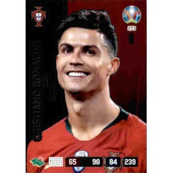 Cristiano Ronaldo Captain Portugal 273 Adrenalyn XL Euro 2020