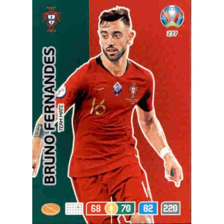 Panini Adrenalyn XL euro 2020 277-bruno fernandes-Team mate
